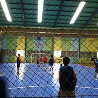 Photo taken at Lapangan Futsal BSC (Ringroad) by Jonathan C. on 7/27/2012