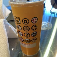 Photo taken at Which Wich? Superior Sandwiches by Sara H. on 1/2/2012