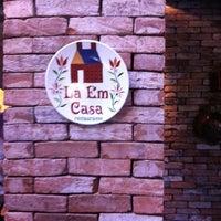 Photo taken at Lá Em Casa by Sandra P. on 9/17/2011