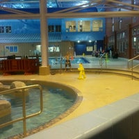 Photo taken at Gallagher Centre Water Park by Ed W. on 10/27/2011