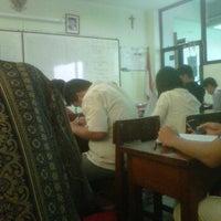 Photo taken at SMA Santo Kristoforus 1 by Randy A. on 2/3/2012