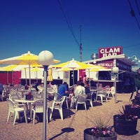 Photo taken at The Clam Bar by Elisa R. on 6/7/2012