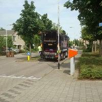 Photo taken at Het bankje waar het allemaal begon by Gerrit D. on 8/13/2012