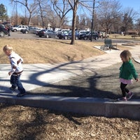 Photo taken at Sloan's Lake Pirate Playground by Steve S. on 3/10/2012
