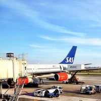 Photo taken at Scandinavian Airlines (SAS) Lounge by Fredrik S. on 4/22/2012