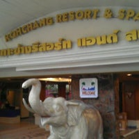 Photo taken at Koh Chang Resort And Spa by วัฒนา ท. on 11/19/2011