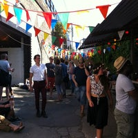 Photo taken at London Fields Brewery by snarkle on 5/26/2012