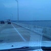 Photo taken at Three Mile Bridge by Felicia B. on 7/25/2012