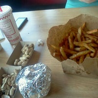 Photo taken at Five Guys by Jonathan M. on 5/17/2011