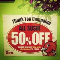 รูปภาพถ่ายที่ Noodle Cafe Zen โดย Wicky M. เมื่อ 10/30/2011