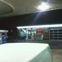 Photo taken at Mobil by Milton on 11/9/2011
