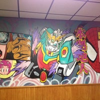Photo taken at Pizza Stop by Mandy L. on 9/8/2012