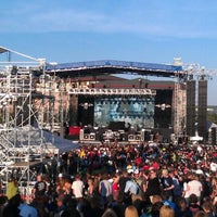 Photo taken at Soaring Eagle Outdoor Concert Venue by Aaron A. on 7/16/2011
