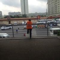 Снимок сделан в Автостанция «Выхино» пользователем Sergey K. 8/16/2012