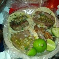 """Photo taken at Tacos """"El guero"""" de Santa Fe by Fernanda A. on 12/5/2011"""
