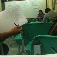 Photo taken at Universidade Candido Mendes (UCAM) by Patrícia D. on 4/25/2012