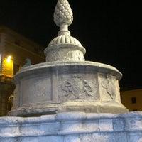 Photo taken at Fontana della Pigna by Namer M. on 9/24/2011