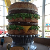 Photo taken at Big Mac Museum Restaurant (McDonald's) by Anthony C. on 7/6/2012