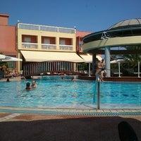 Photo taken at Ambassador Hotel Thessaloniki by Kostas D. on 7/22/2012