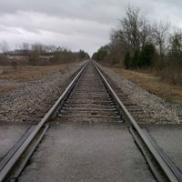 Photo taken at Train Crossing @ Shelby County Road 87 by GRAY on 1/17/2012