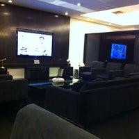 Photo taken at MasterCard Black Lounge by Rafael N. on 1/24/2012