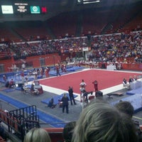 Photo taken at Bob Devaney Sports Center by Brandon H. on 3/6/2011