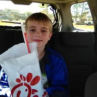 Photo taken at Chick-fil-A by Joey B. on 1/14/2012