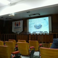 Photo taken at Universidade Santa Cecília (Unisanta) by Anderson C. on 9/12/2011