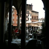 Photo taken at Osteria delle Erbe by Marco C. on 4/15/2011