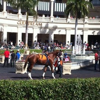 Photo taken at Gulfstream Park Racing and Casino by Keith B. on 1/27/2012