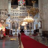 Photo taken at Hagia Triada Greek Orthodox Church by Emrecan K. on 8/9/2012