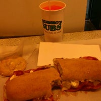 Photo taken at Georgio's Subs by Ray L. on 1/14/2012