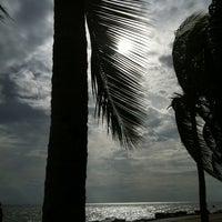 Photo taken at Wonnapa Beach by Supattra N. on 6/16/2012