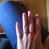 Photo taken at XO Nail & Spa by Holley on 10/8/2011