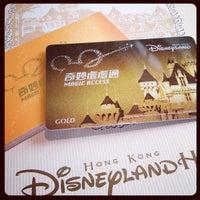 Photo taken at Hong Kong Disneyland Hotel by Nagi P. on 2/8/2012