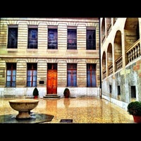 Photo taken at Hôtel de Ville de Genève by Mazen A. on 3/18/2012