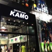 8/16/2012にReggie C.がサッカーショップKAMO 原宿店で撮った写真