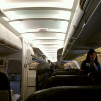 Photo taken at US Airways Flight 702 Phoenix To Philadelphia by Jonathan K. on 10/15/2011