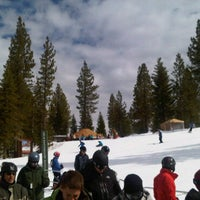 Photo taken at Martis Camp Yurt by Mark C. on 3/5/2011