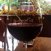 Photo taken at Sofia Wine Bar by Tammy P. on 8/20/2012