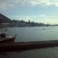 Photo taken at Ivar's Salmon House by Brandy on 10/9/2011