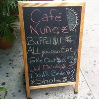 Photo taken at Cafe Nunez by Dazhi C. on 7/7/2011