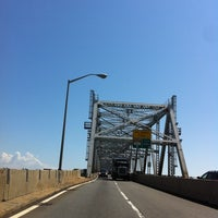 Photo taken at Outerbridge Crossing by Cristina C. on 8/17/2011