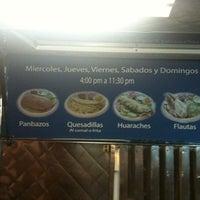 Photo taken at Quesadillas Hermanas Torres by Jacks N' C. on 7/30/2011