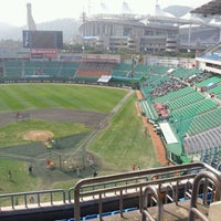 Photo taken at Incheon SK Happy Dream Park by Minette H. on 10/8/2011