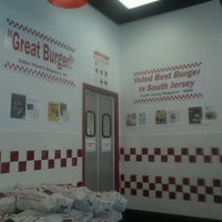 Photo taken at Five Guys by Clarke P. on 10/17/2011