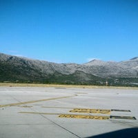 Photo taken at Dubrovnik Airport (DBV) by Carrie L. on 8/14/2012