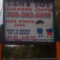 Photo taken at Tiny Tot Learning Ctr by Gina S. on 10/28/2011