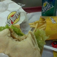 Photo taken at SP Burger by Samuel C. on 9/22/2011