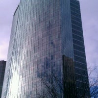 Photo taken at Microsoft City Center Plaza by Juan V. on 2/2/2012